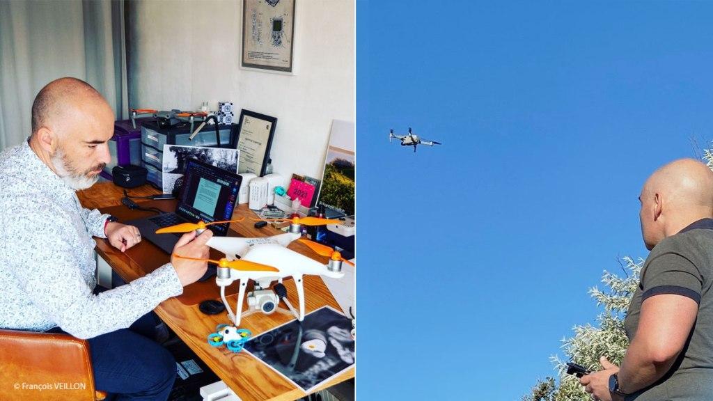 Pilote de drone côte d'armor
